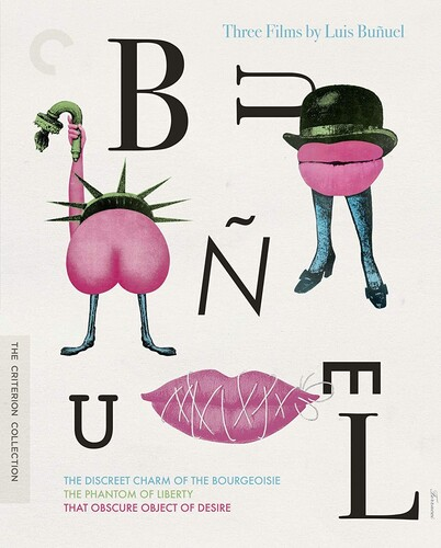 Three Films by Luis Buñuel (Criterion Collection)