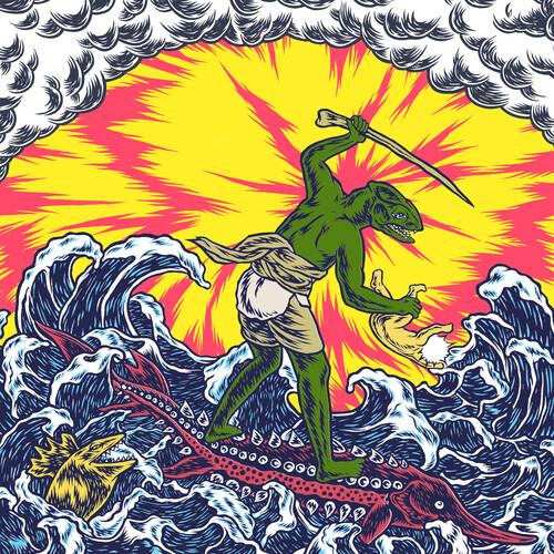 Teenage Gizzard (Pink & Yellow Color Vinyl)