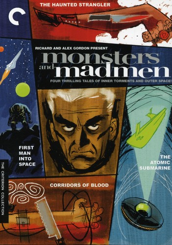 Criterion Collection: Monsters And Madmen [4 Discs] [B&W] [Full Screen