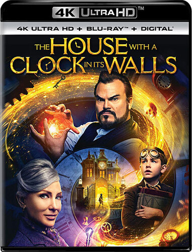 House with a Clock in Its Walls [4K Ultra HD Blu-ray/Blu-ray]