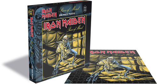 - Iron Maiden Piece Of Mind (500 Piece Jigsaw Puzzle)