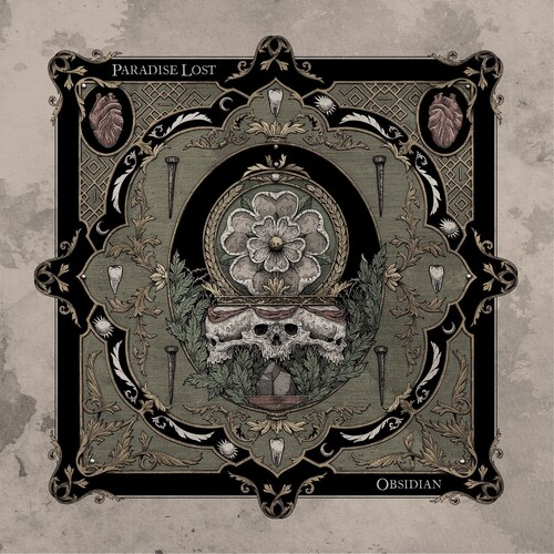 Paradise Lost - Obsidian [Indie Exclusive Limited Edition Oxblood / Black Splatter LP]