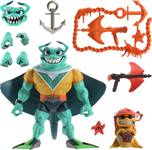 TMNT ULTIMATES! WAVE 5 - RAY FILLET