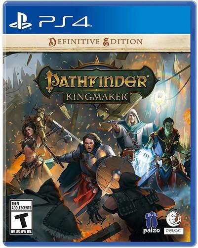 - Pathfinder Kingmaker for PlayStation 4