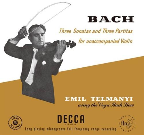 Three Sonatas & Three Partitas For Unaccompanied Violin (J.S. Bach)