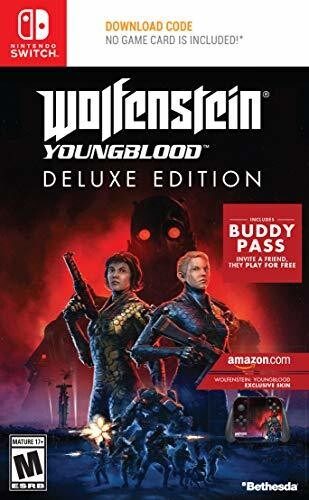 Swi Wolfenstein: Youngblood De - Wolfenstein: Youngblood for Nintendo Switch Deluxe Edition