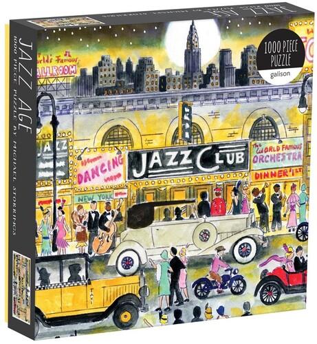 Storrings, Michael - Michael Storrings Jazz Age 1000 Piece Puzzle
