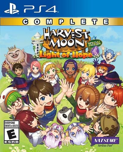- Harvest Moon: Light of Hope SE Complete for PlayStation 4