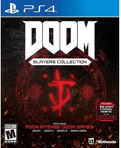 Ps4 Doom Slayers Club Collection - Doom Slayers Club Collection for PlayStation 4