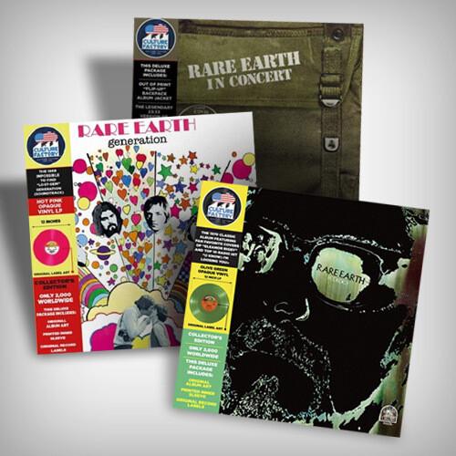 Rare Earth Vinyl Bundle