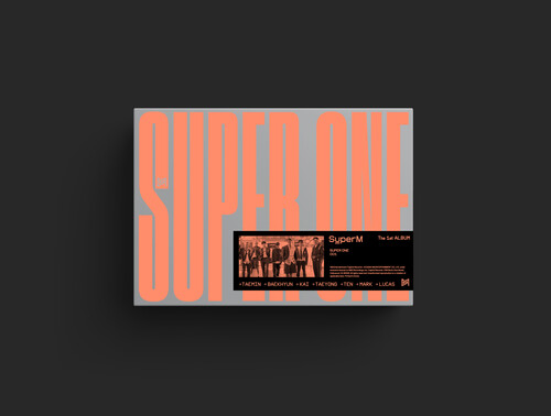 SuperM - SuperM The 1st Album 'Super One' [Super Ver.]