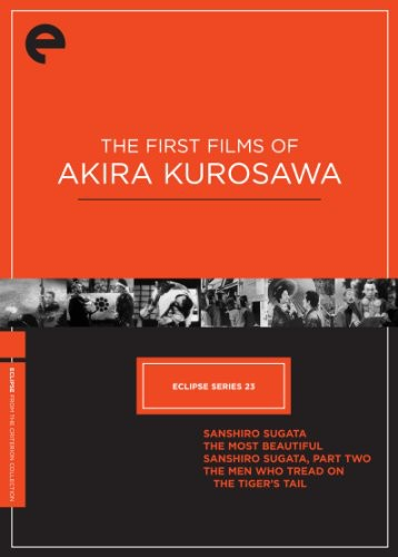 First Films of Akira Kurosawa (Criterion Collection - Eclipse Series 23)