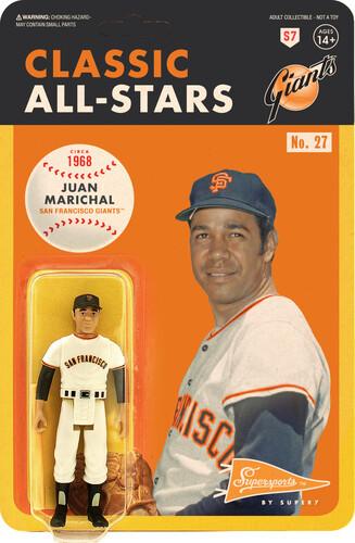 MLB CLASSIC REACTION FIGURE - JUAN MARICHAL