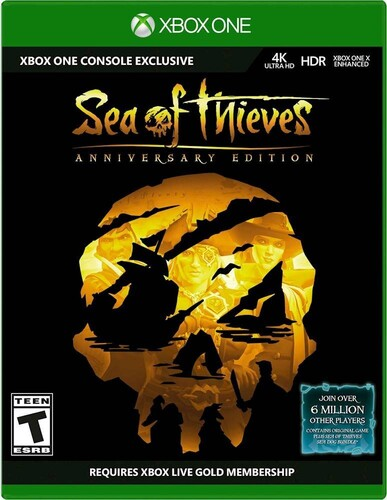 Xb1 Sea of Thieves Anniversary Edition - Sea of Theives Anniversary Edition for Xbox One