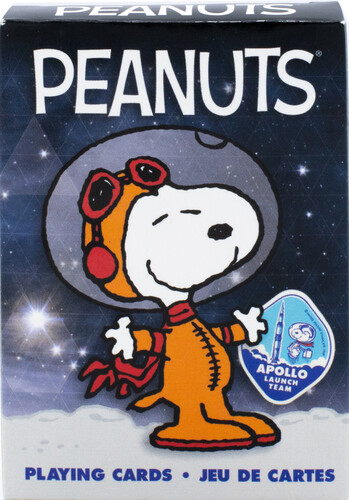 PEANUTS SNOOPY IN SPACE PLAYING CARDS DECK