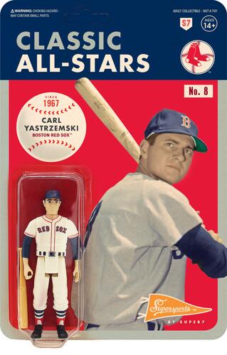 MLB CLASSIC REACTION FIGURE - CARL YASTZREMSKI