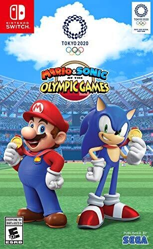 Swi Mario & Sonic at the Olympic Games: Tokyo 2020 - Mario & Sonic at the Olympic Games: Tokyo 2020 for Nintendo Switch