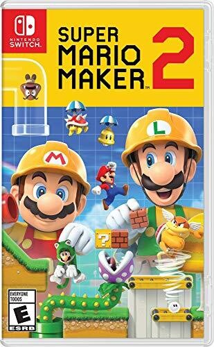 - Super Mario Maker 2 for Nintendo Switch