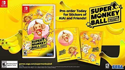 Super Monkey Ball: Banana Blitz HD for Nintendo Switch