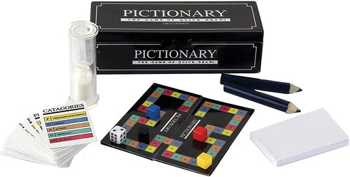 WORLDS SMALLEST PICTIONARY GAME