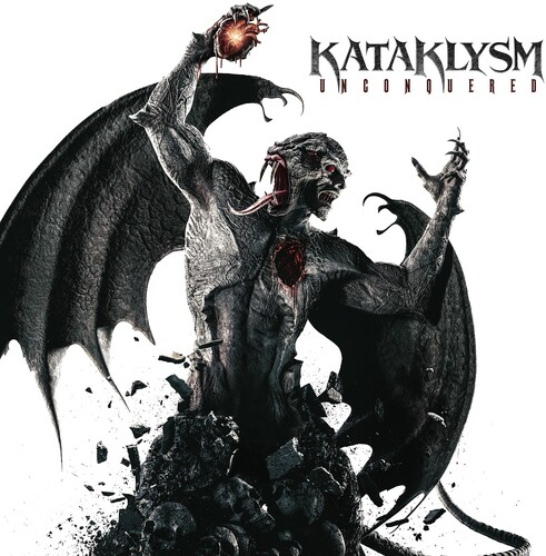 Kataklysm - Unconquered (Red & Black Splatter) (Blk) [Limited Edition]