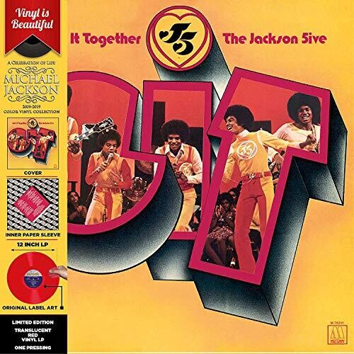 Jackson 5 - Get It Together [Colored Vinyl] [Limited Edition] (Red)