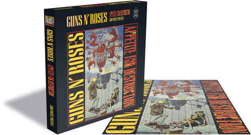 Guns N' Roses - Guns N' Roses Appetite For Destruction 1 (500 Piece Jigsaw Puzzle)