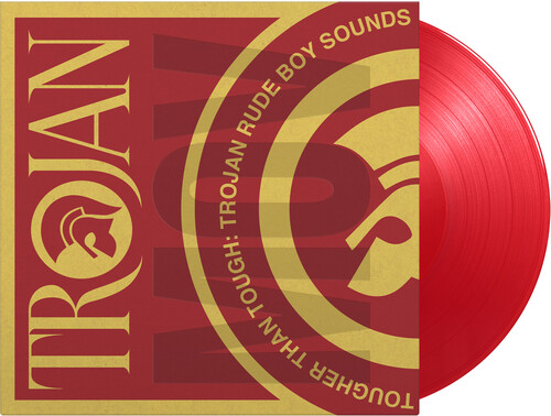 Tougher Than Tough: Trojan Rude Boy/  Various [Limited 180-Gram Translucent Red Colored Vinyl] [Import]