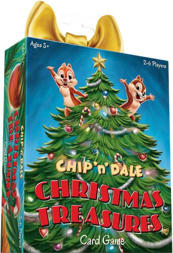 DISNEY CHIP N DALE CHRISTMAS TREASURES