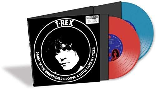 T Rex - Dandy In The Underworld [Red & Blue Colored 10-Inch Set]