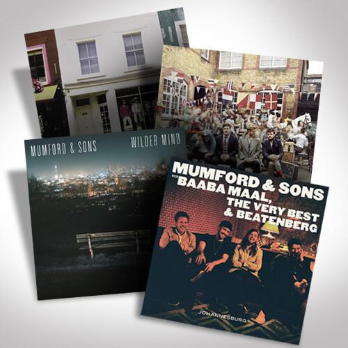 Mumford & Sons Vinyl Bundle