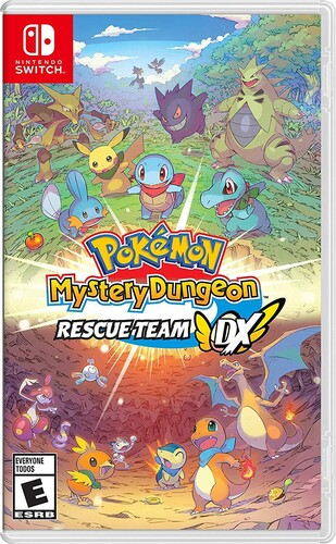 Swi Pokemon Mystery Dungeon: Rescue Team DX - Pokemon Mystery Dungeon: Rescue Team DX for Nintendo Switch