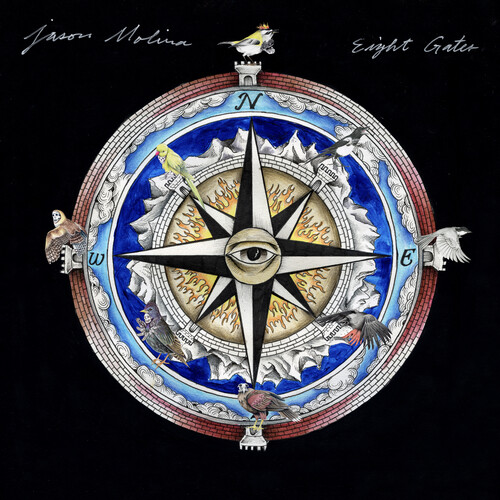 Jason Molina - Eight Gates [Indie Exclusive Limited Edition Red Splach LP]