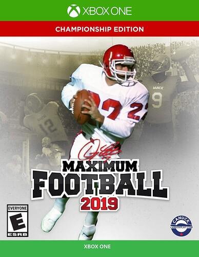 - Maximum Football 2019 for Xbox One