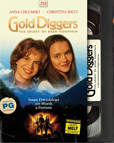 Gold Diggers: The Secret of Bear Mountain (Retro VHS Packaging)