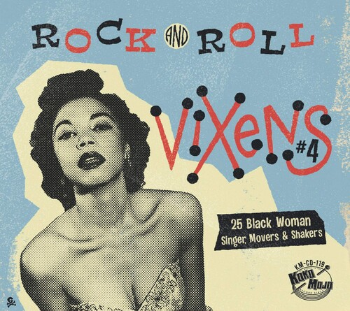 - Rock And Roll Vixens 4 (Various Artists)