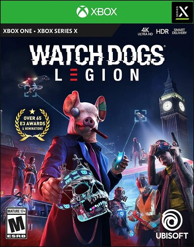 - Watch Dogs: Legion Limited Edition