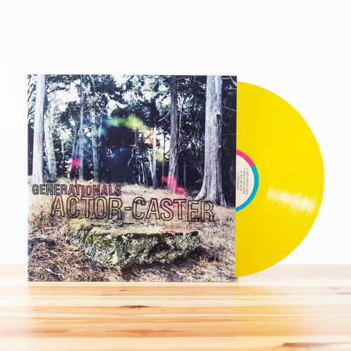 Generationals - Actor-Caster [Colored Vinyl] [Download Included]