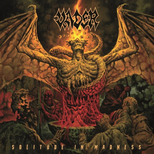 Vader - Solitude In Madness [Limited Edition Mustard LP]
