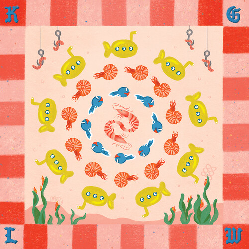 King Gizzard & The Lizard Wizard - Fishing For Fishies: Demos & Live [Indie Exclusive Limited Edition Red Snapper LP]