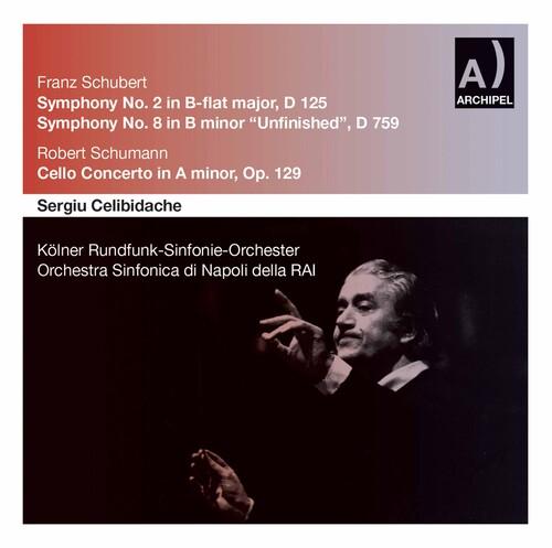 Sinfonien 2 & 8 Schumann Cell