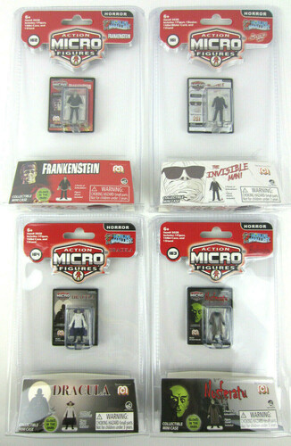 WORLDS SMALLEST MEGA HORROR MICRO FIGS