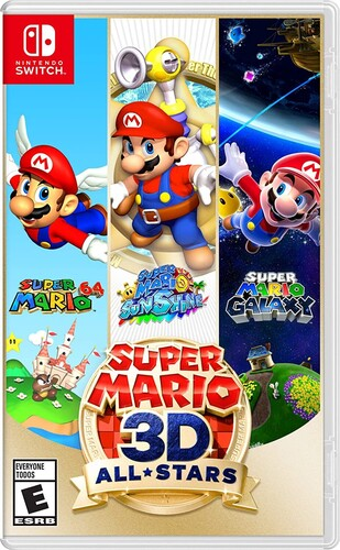 Swi Super Mario 3D All-Stars - Super Mario 3D All-Stars for Nintendo Switch
