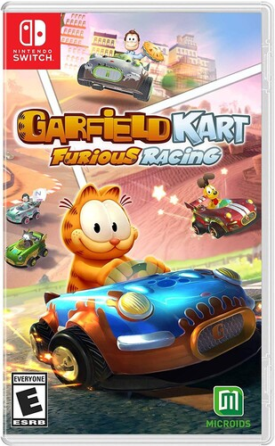 - Garfield Kart: Furious Racing for Nintendo Switch