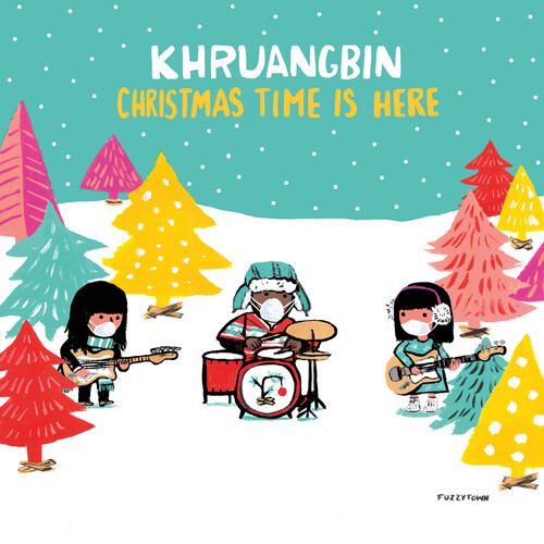 Khruangbin - Christmas Time Is Here / Christmas Time Is Here (Version Mary) [Indie Exclusive Limited Edition Translucent Red Vinyl]
