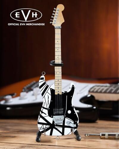 EDDIE VAN HALEN VH1 BLACK & WHITE MINI GUITAR