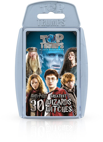 HARRY POTTER WITCHES & WIZARDS TOP TRUMPS GAME