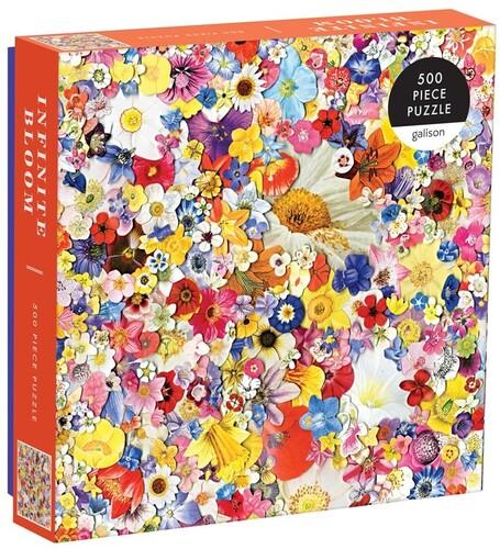 Galison - Infinite Bloom 500 Piece Puzzle