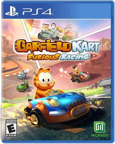 - Garfield Kart: Furious Racing for PlayStation 4