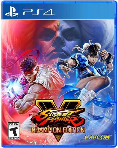 Ps4 Street Fighter V Champion Edition - Street Fighter V Champion Edition for PlayStation 4